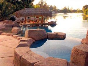 Natural Inground Pool