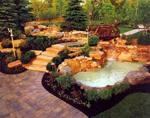Inground Pool In Natural Environment