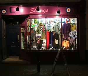 Sherry's specialists in mod gear, just of Carnaby Street