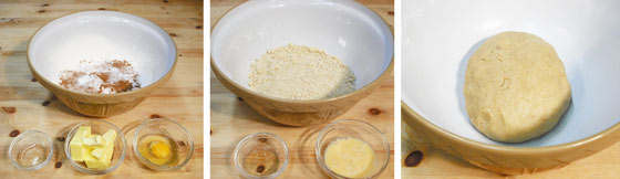 Making The Souling Cake (Biscuit) Dough