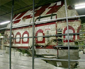 Air India flight 182 wreckage