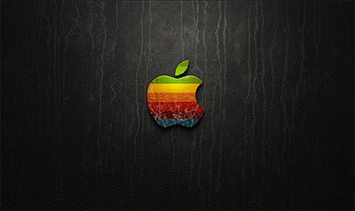 Apple Wallpaper Graphic