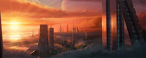 Future City Horizon Image