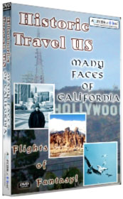 Historic Travels US - Many Faces of California DVD