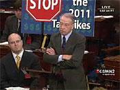 GOP Senators Reject Tax Cuts for Middle Class