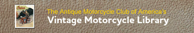 Vintage Motorcycle Library