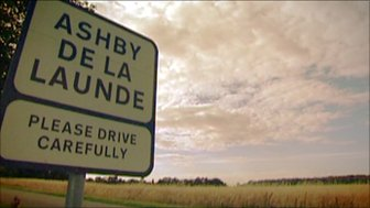 Sign for Ashby De La Launde