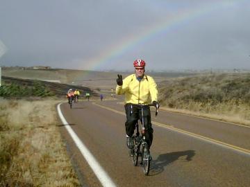 PR Phil Cowles Desert Camp 2010 rainbow