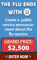 Create a video or design for the CDC urging people to stay healthy this flu season by getting their flu vaccine and you could win $2,500!