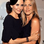 Jennifer Aniston and Courteney Cox 240 150x150 Cougar Town   Aniston and Cox Posed to Reunite