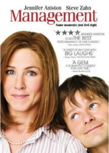 managementdvd 214x300 Jennifer Aniston and Steve Zahns latest film, Management, to be released on DVD