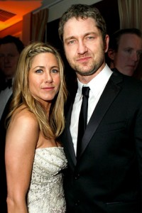 butler aniston b 200x300 Gerard Butler Jokes About Marrying Jennifer Aniston