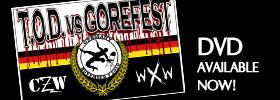 Buy CZW/WXW's TOD vs Gorefest on DVD