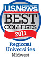 US News Best Colleges 2011 Midwest Logo