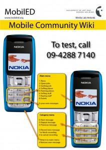 MobilED Community Wiki instruction sheet