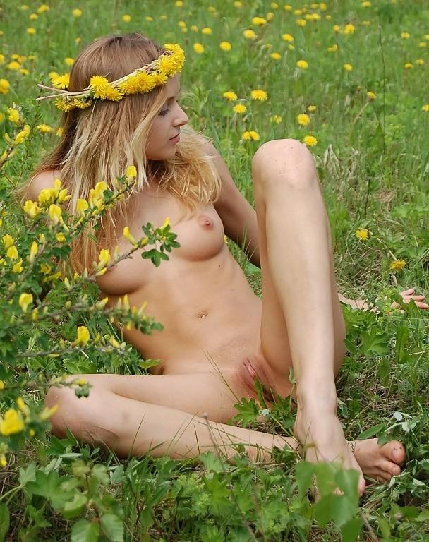 NakedBlondInGrassFieldOutsideShaved02NiceTitsSpread.jpg