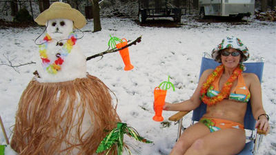 Pictures: Abominable Snowmen