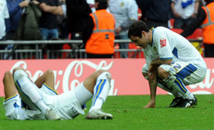 Dejection at Wembley