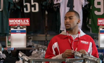 DeSean Goes Undercover to Sell His Own Jersey