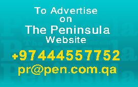 Advertise on the peninsula paper