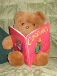 home school book lists, corduroy reading<img src=