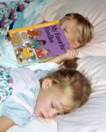 home school book lists, read in bed asleep<img src=