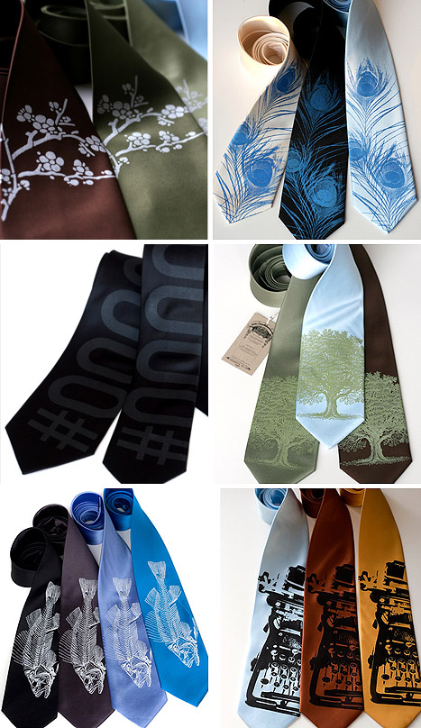 Unique Ties For Grooms & Groomsmen