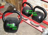 CK6 - Atomic Athletic Classic Kettlebell: Small