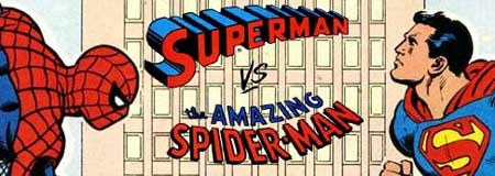 Spiderman vs Superman