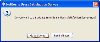 NetBeans Annoying Dialog
