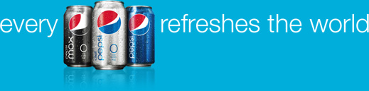Every pepsi refreshes the world