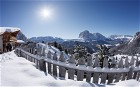 A view across the Dolomites in Val Gardena, South Tyrol