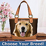 Faithful Friend Dog-Themed Tote Bag: Unique Dog Lover Gift - Exclusive Dog-themed Tote Bag! Choose Your Favorite Breeds and Carry Your Furry Friends with You Every Day!
