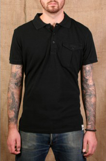 Black Slim Fit Polo