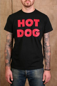Hot Dog Classic Tee