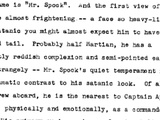 "Click here to read Read the first draft of Gene Roddenberry's Star Trek pitch, starring ""Captain April"" and the ""S.S. Yorktown"""