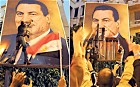 Will Barack Obama trust 80 million Egyptians?; People?s power: a poster of President Mubarak is ripped apart in Alexandria. The 82-year-old had been seeking another term in office; AFP/Getty Images
