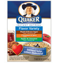 Quaker Instant Oatmeal - Flavor Variety Pack