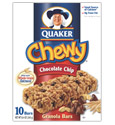 Quaker Chewy Granola Bars - Chocolate Chip