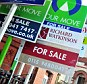 Decline: House prices fell in January, say Nationwide