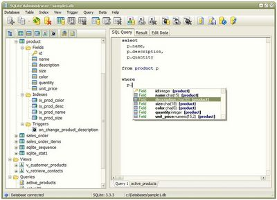 SQLite administrator tool, free and badassed.