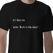 original Arch Is the Best t-shirts