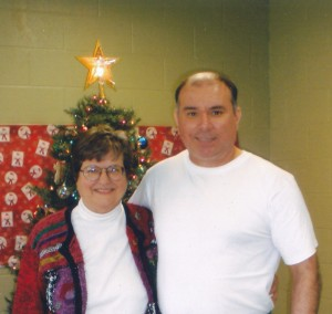 Manuel and Sister Helen January 2009