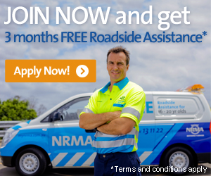 Join now and get 3 months FREE Roadside Assistance