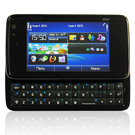 N900 Touch screen Cell phone Dual card quad band QWERTY slide black