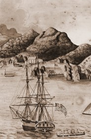 A View of Honolulu in 1821