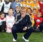 David Beckham celebrates the second anniversary of The David Beckham Academy in London