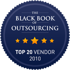 Auriga in the Top 20 Vendors by Black Book of Outsourcing 100