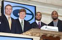 Packers Ring Closing Bell at New York Stock Exchange