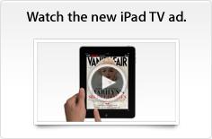 Watch the new iPad TV ad.
